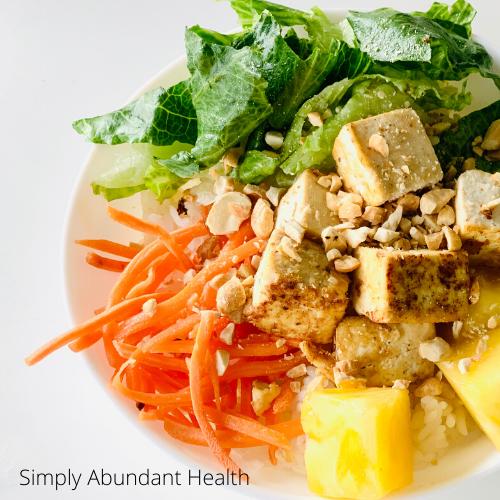 Pineapple Tofu Bowl