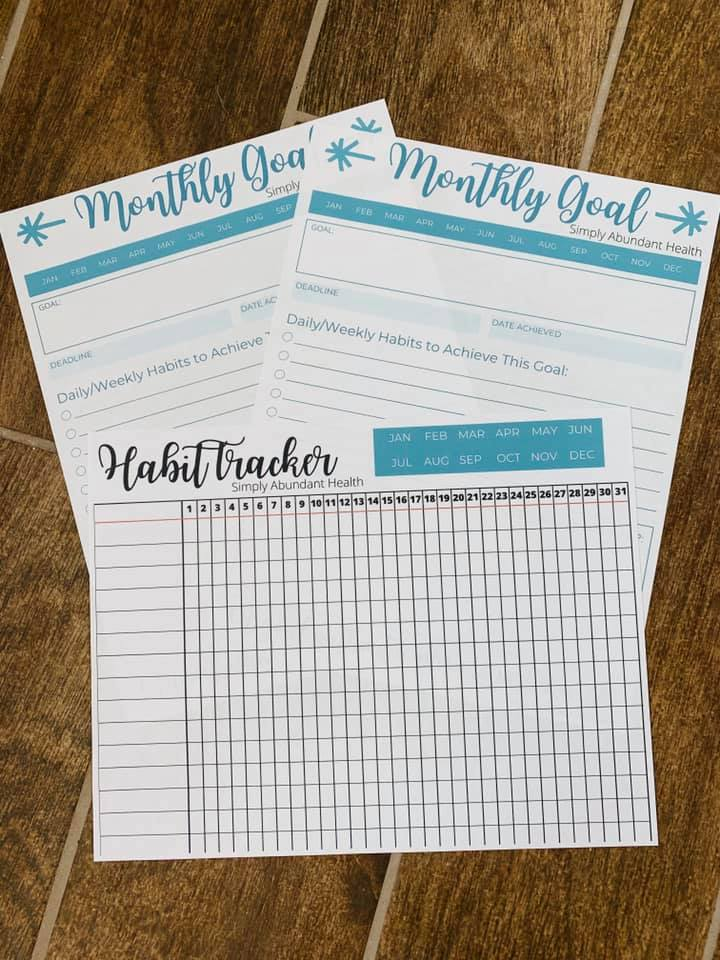 Goal Setting Guide with Habit Tracker